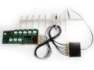 Пример подключения сплиттера к GSM-плате