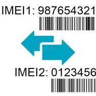 IMEI change procedure