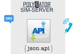 SIM-server API for custom VoIP and SMS-solutions