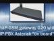 VIDEO - Testing of IP-PBX based on GSM-gateway G20