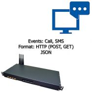 Get incoming SMS's via GSM-gateway in bulk (3-steps solution)